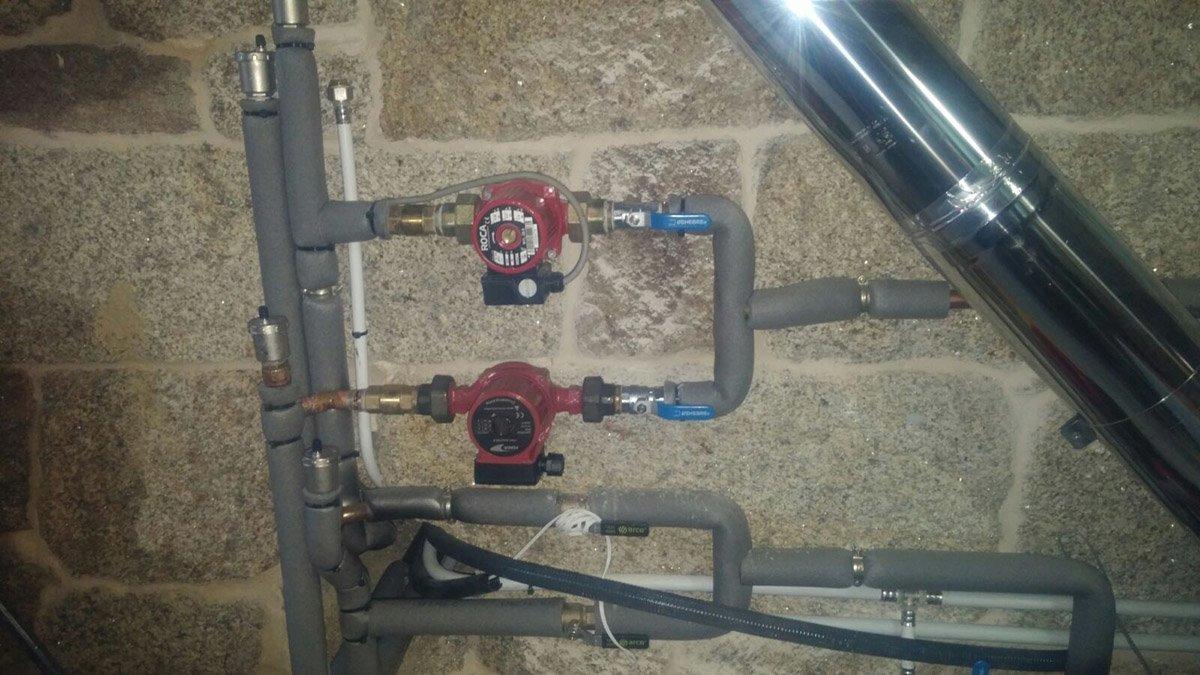 Calefaccion por rollo m k de fibra de carbono sistema de for Precio instalacion calefaccion radiadores